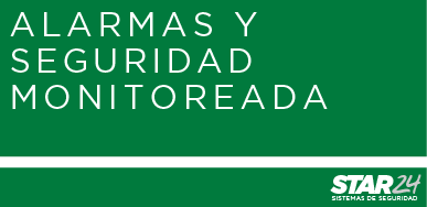 Alarmas y seguridad monitoreada